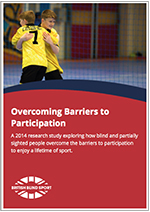 British Blind Sport Overcoming Barriers To Participation